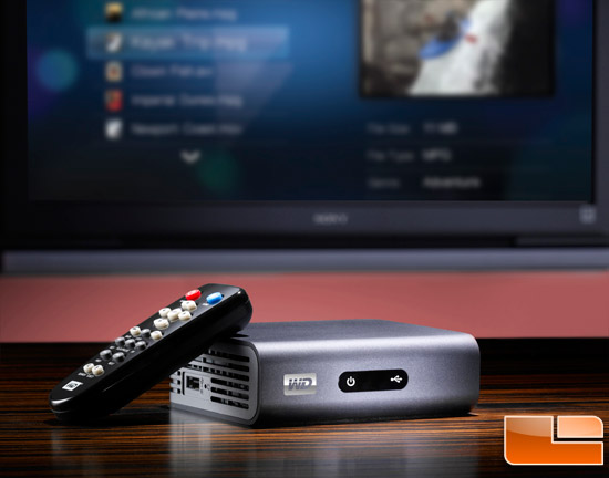 wd tv live plus media player review