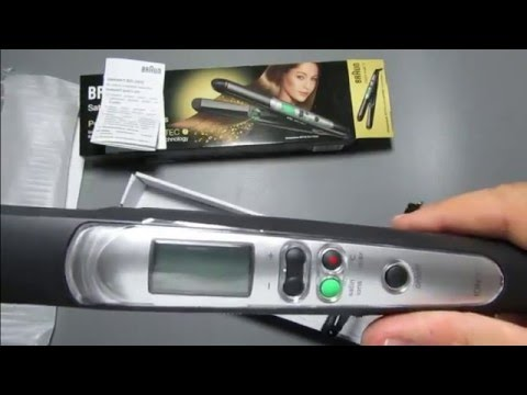 braun satin hair 7 straightener review