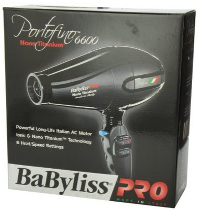 babyliss pro nano titanium portofino dryer review