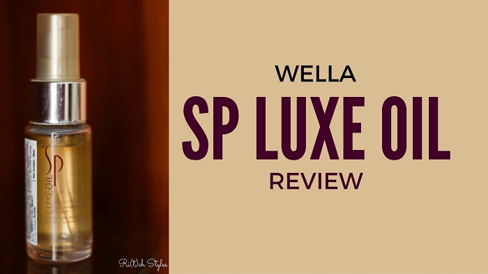 wella sp luxe oil review