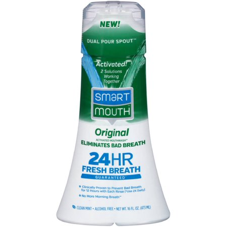 smart mouth activated mouthwash reviews