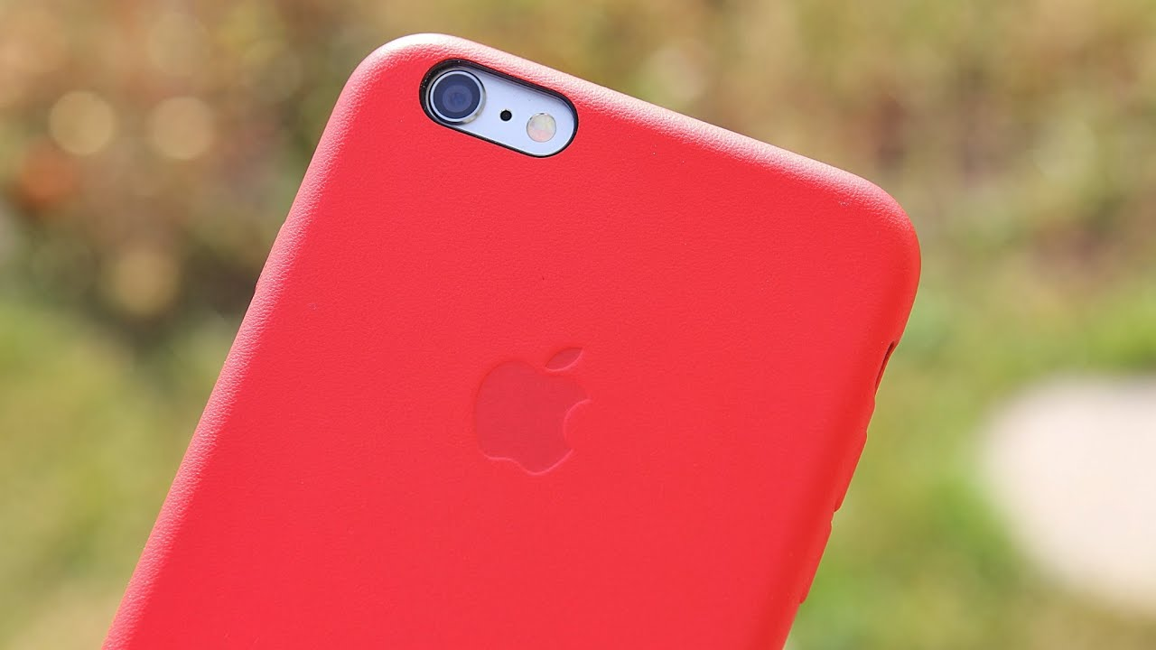 iphone 6 leather cover review