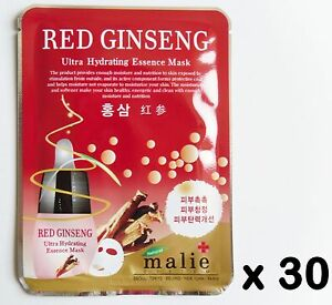 red ginseng face mask review