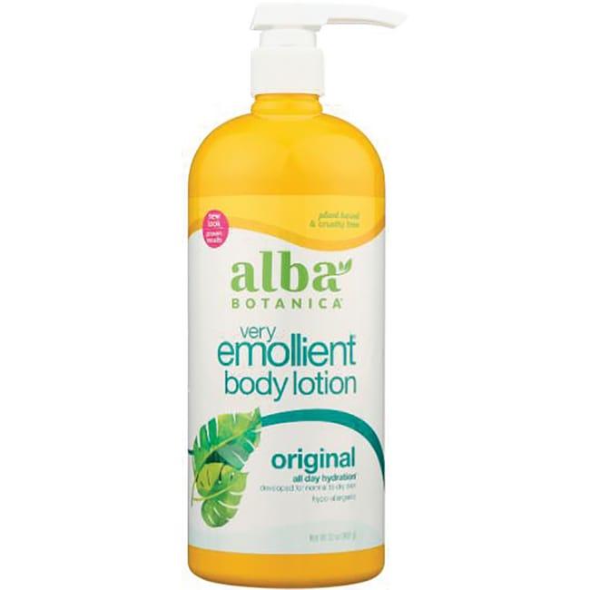 alba botanica very emollient body lotion review