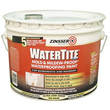 zinsser watertite waterproofing paint reviews