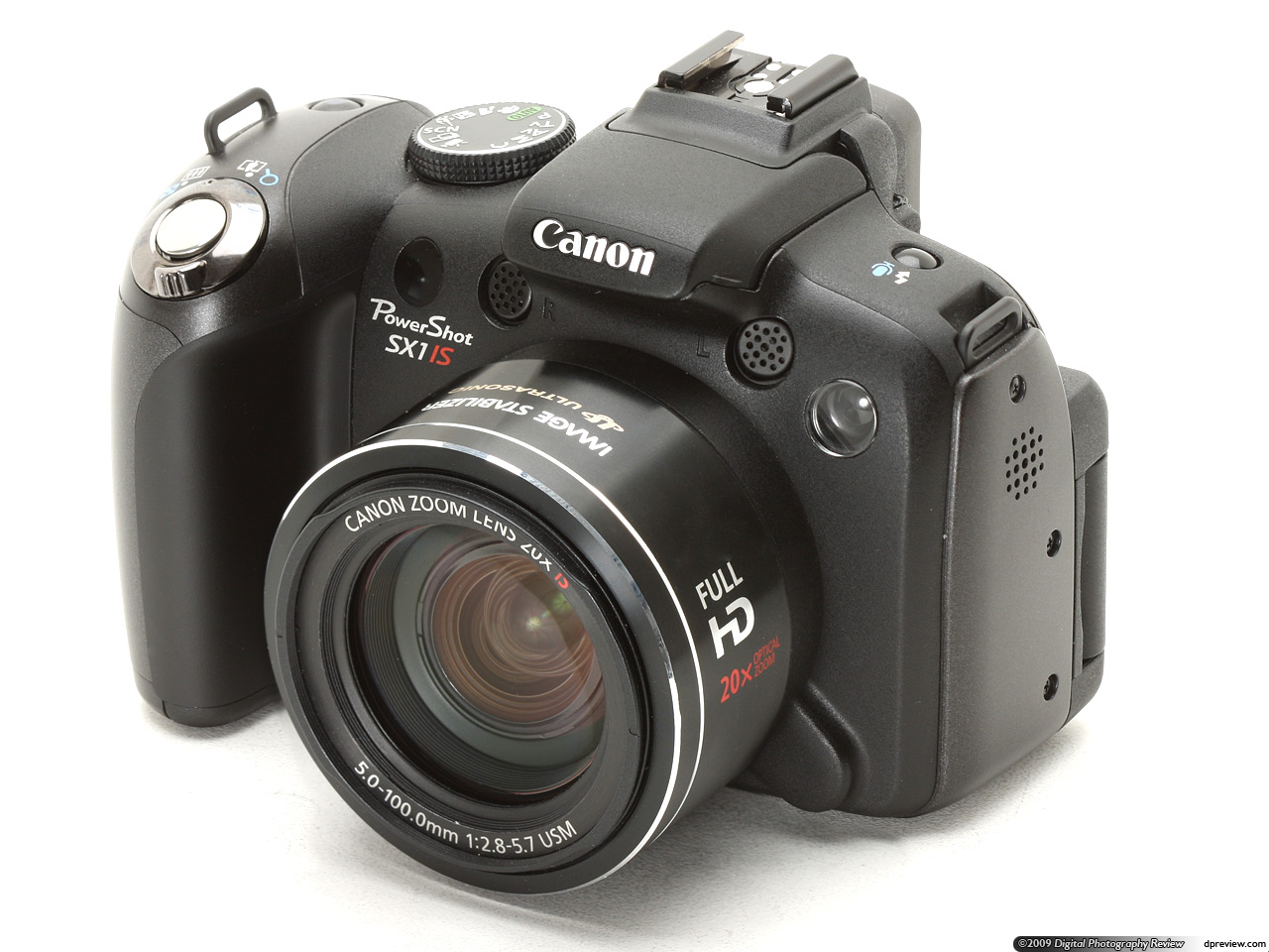 canon powershot sx1 is review