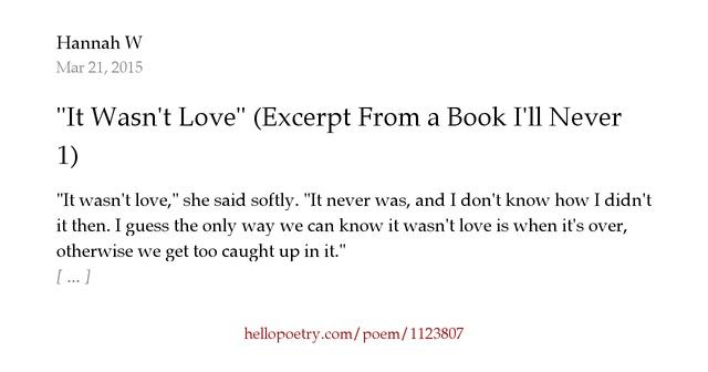 a book i ll never write review