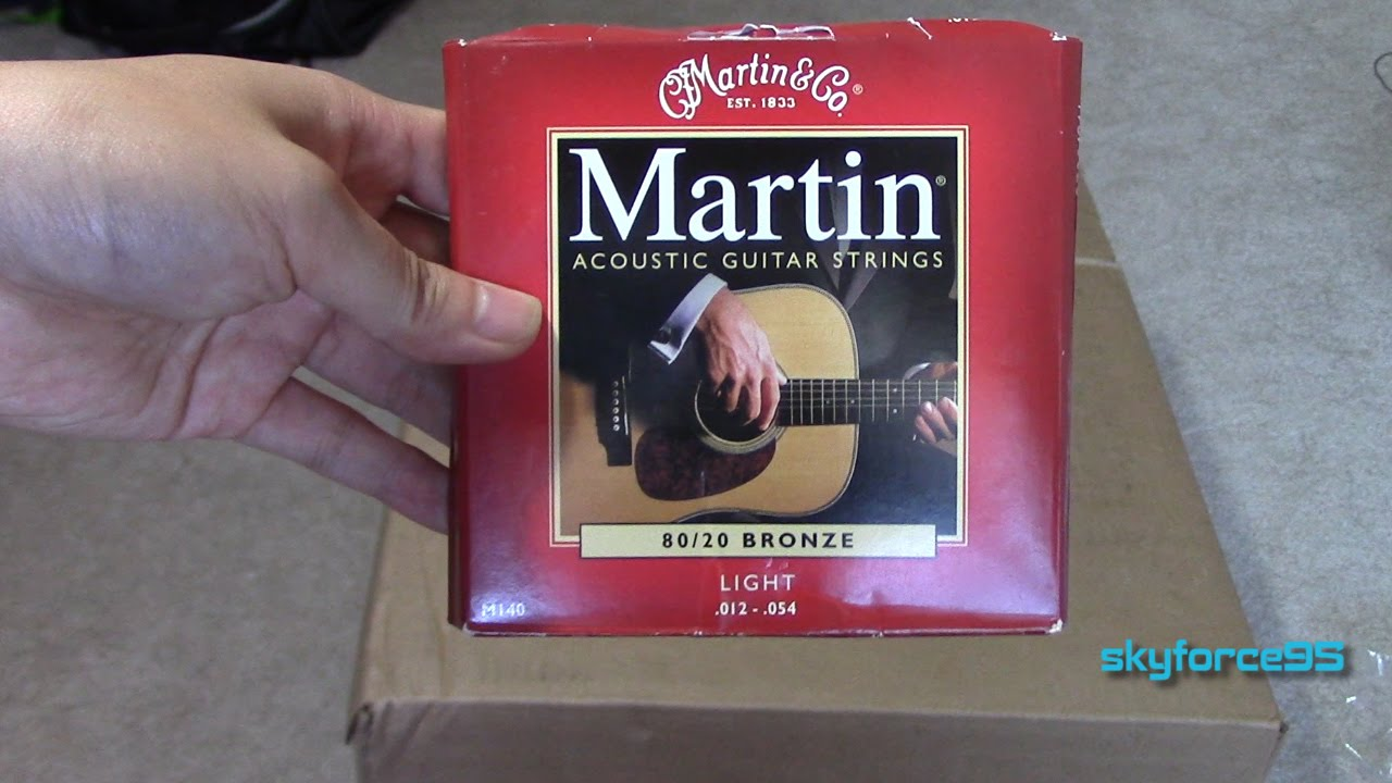 martin acoustic guitar strings review