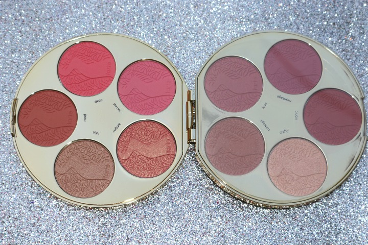 limited edition color wheel amazonian clay blush palette review