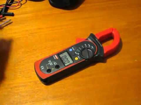 uni t clamp meter review