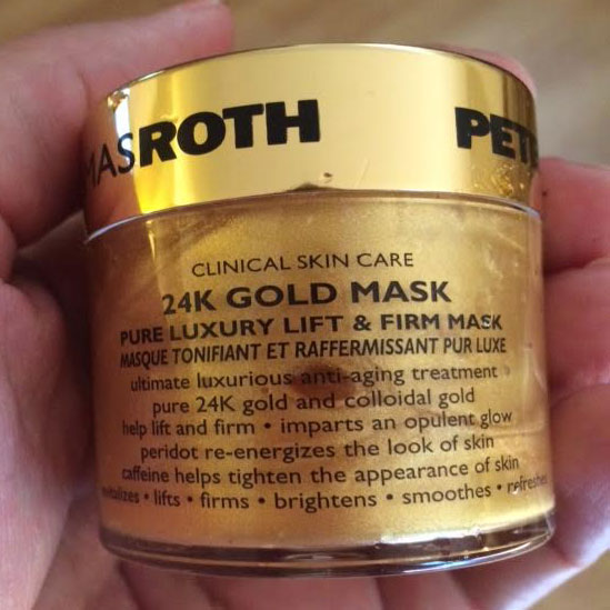 d or 24k gold mask review