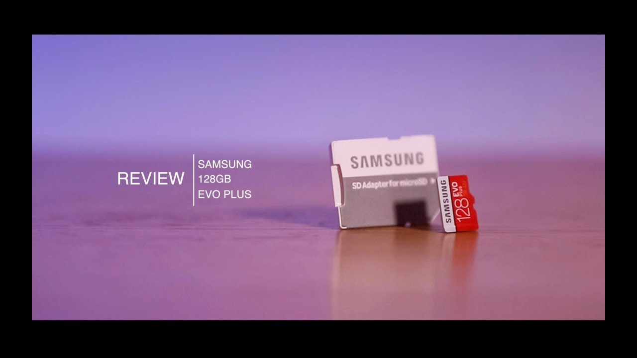 samsung evo sd card review