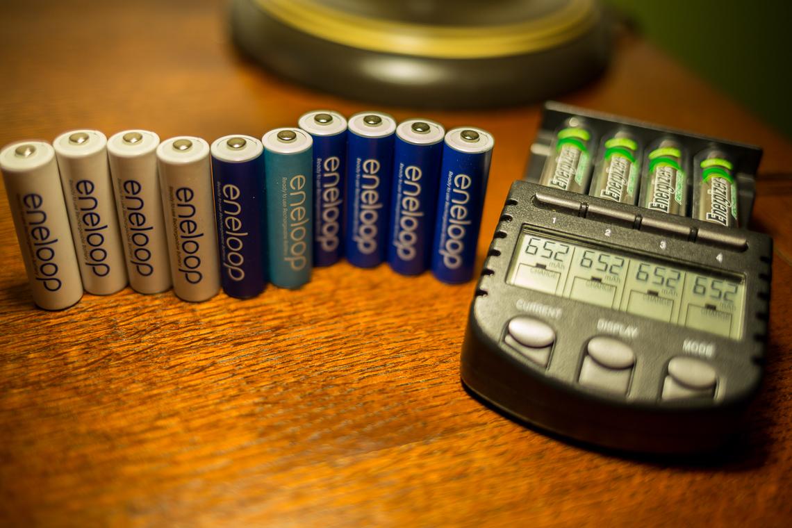 panasonic eneloop rechargeable batteries review