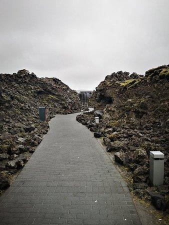 blue lagoon lava scrub review