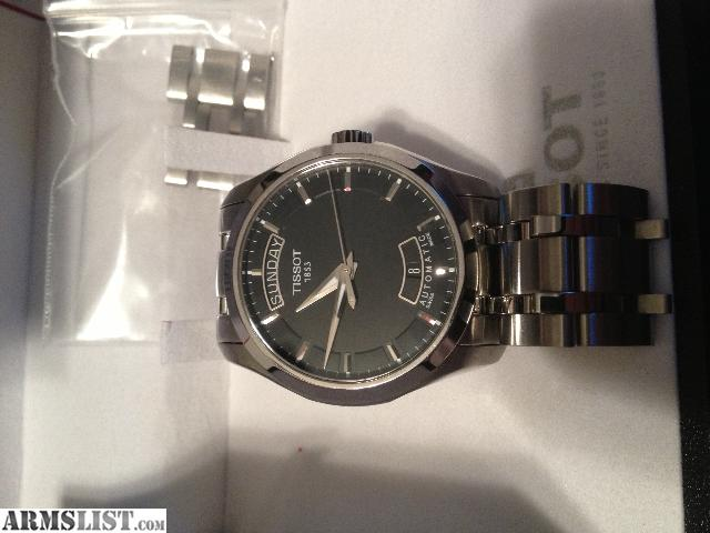 tissot couturier day date review