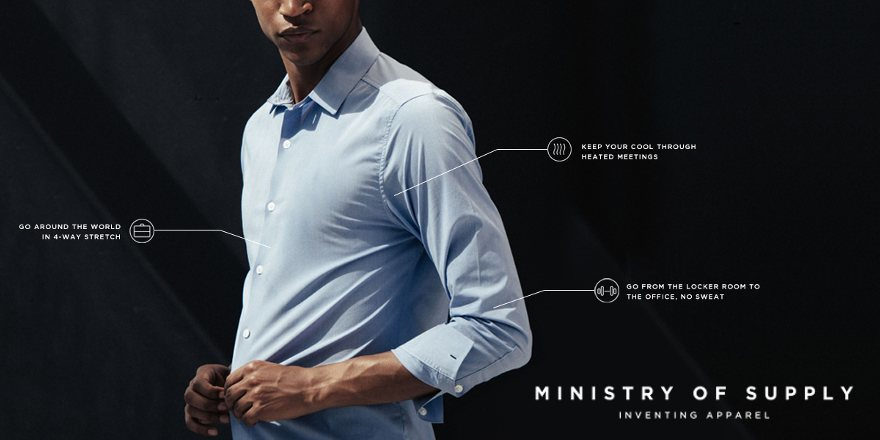 ministry of supply shirt review