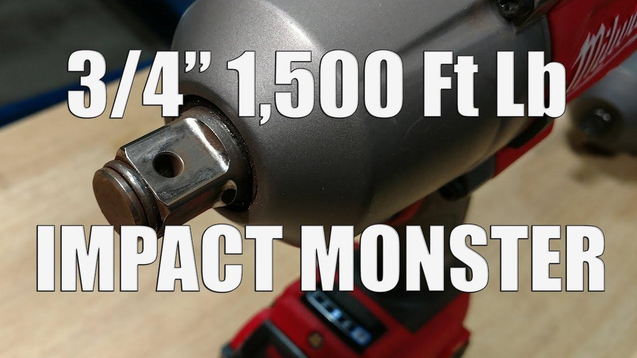 milwaukee 3 4 fuel impact review