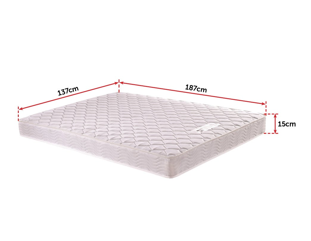 palermo single bed mattress review