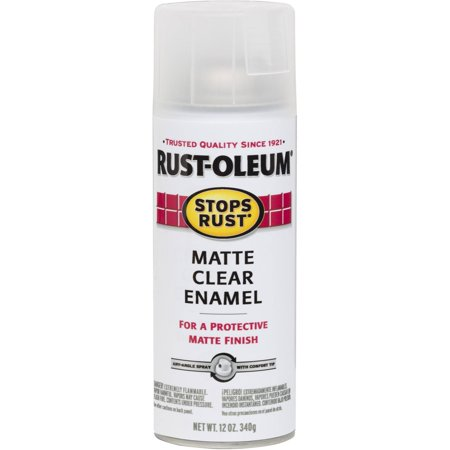 rustoleum clear coat spray review