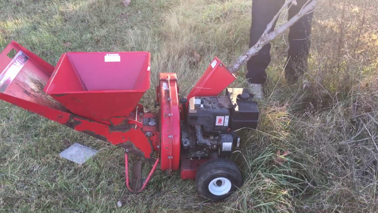 mtd 5hp chipper shredder reviews