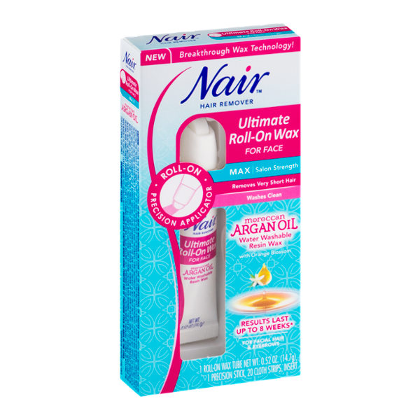 nair ultimate roll on wax for face review