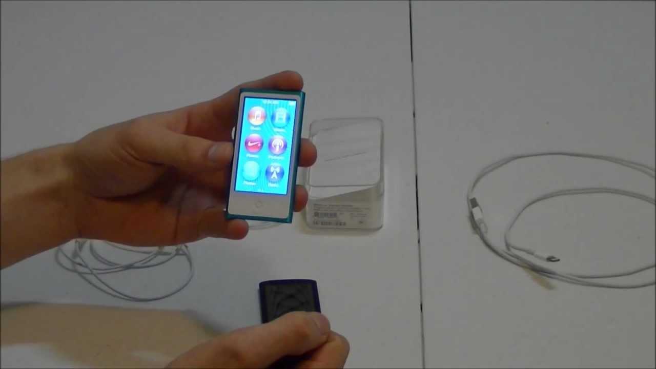 ipod nano 7th generation review youtube