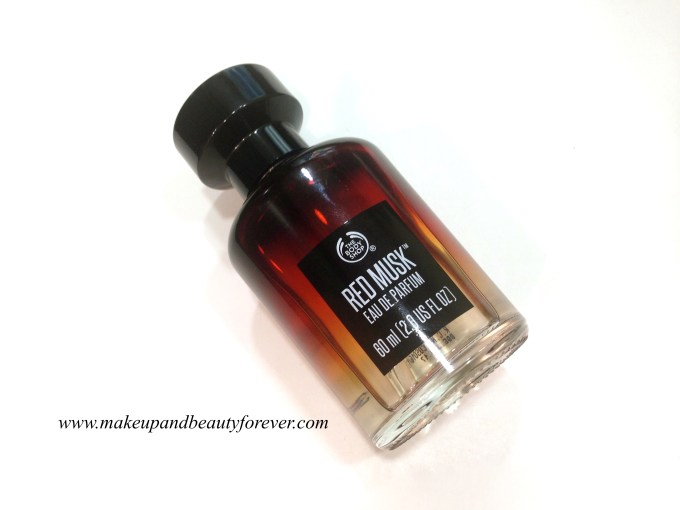 body shop red musk review