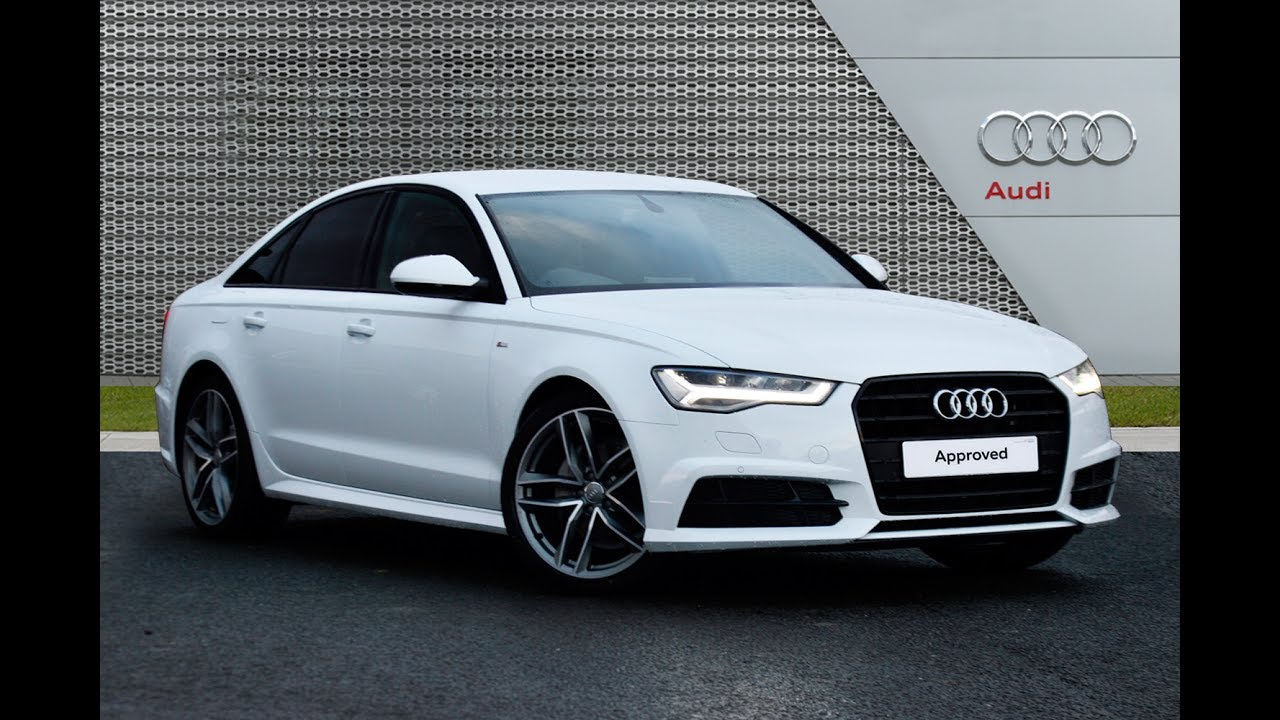 audi a6 ultra black edition review