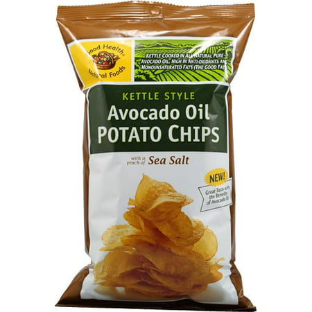 good health avocado oil potato chips review