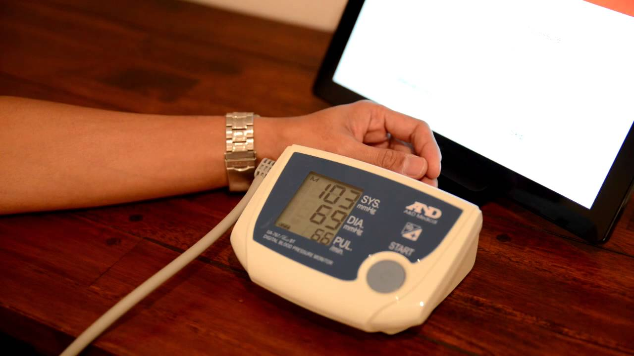 a&d blood pressure monitor review
