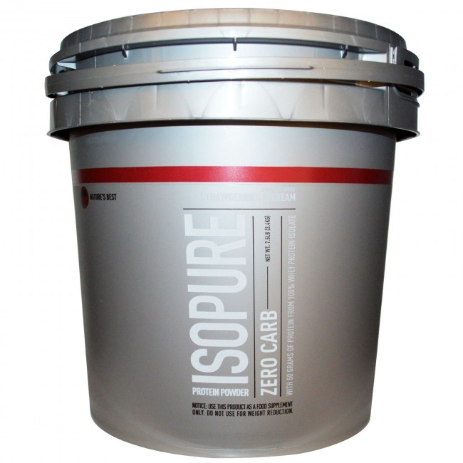 isopure strawberries and cream review