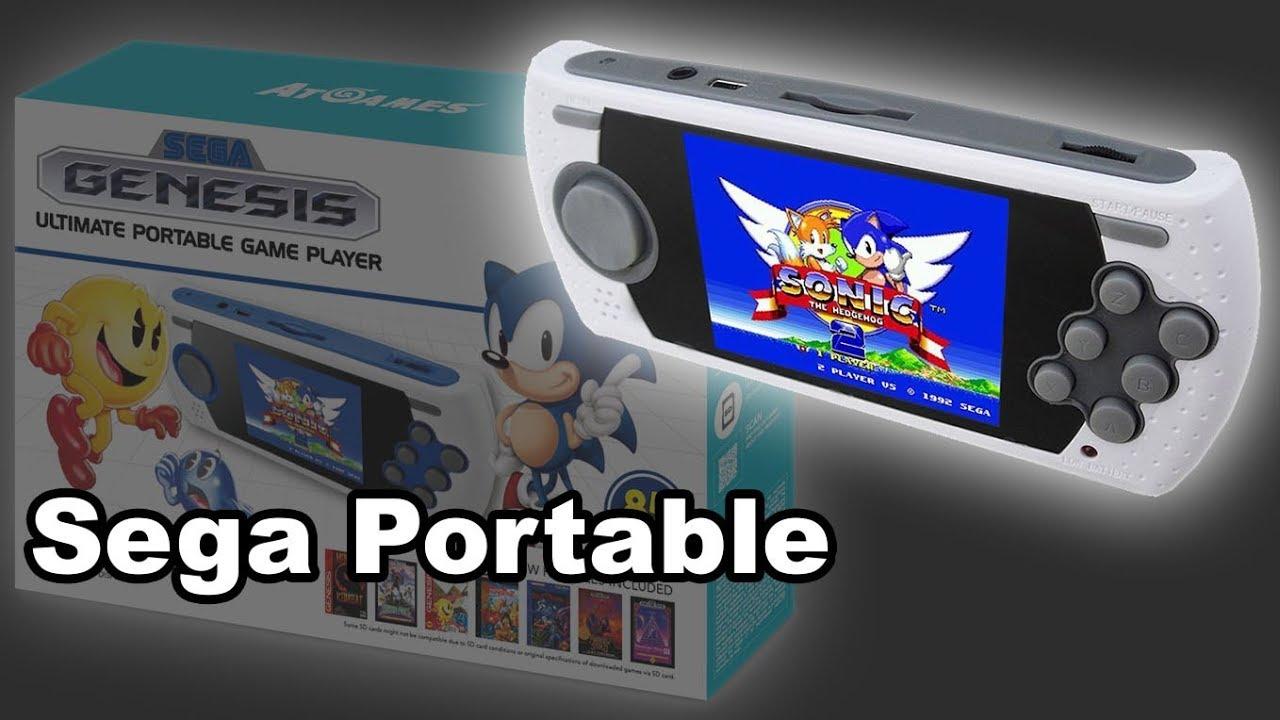 sega genesis ultimate portable game player 2017 review