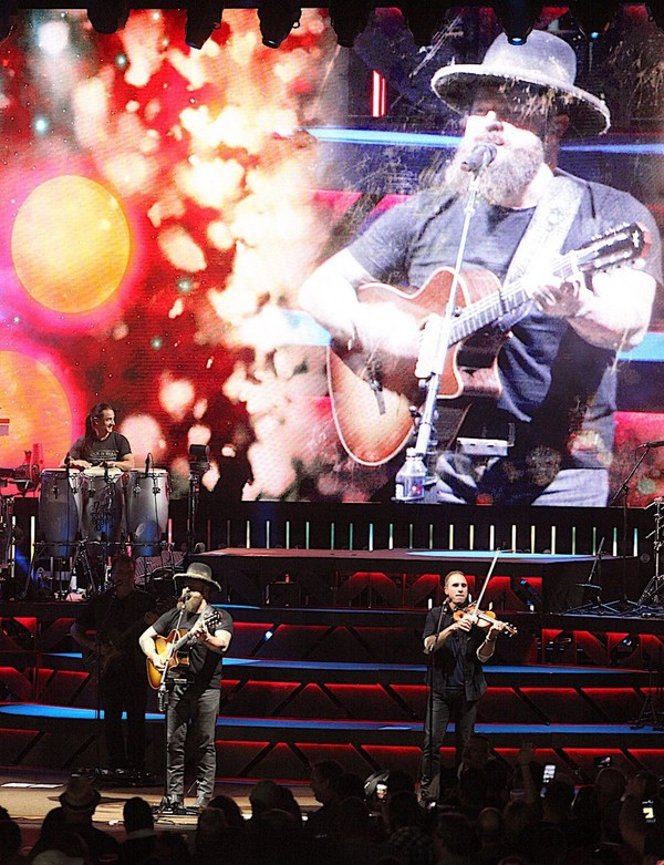 zac brown band concert review