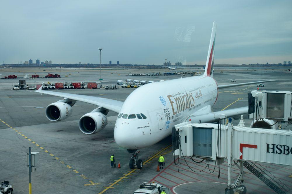 emirates jfk to dubai review