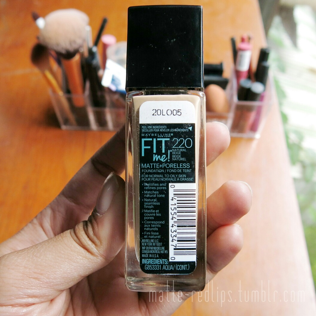 maybelline fit me powder review indonesia