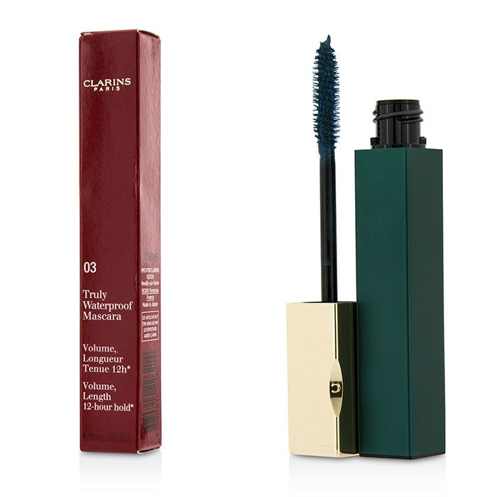 clarins truly waterproof mascara review