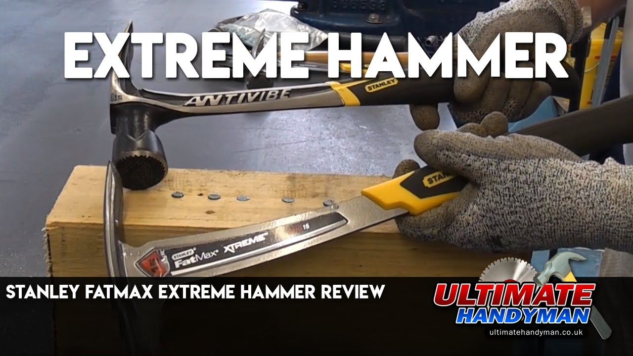 stanley fatmax 14 oz hammer review