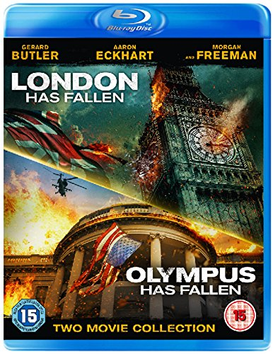 olympus has fallen blu ray review