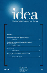 marquette intellectual property law review