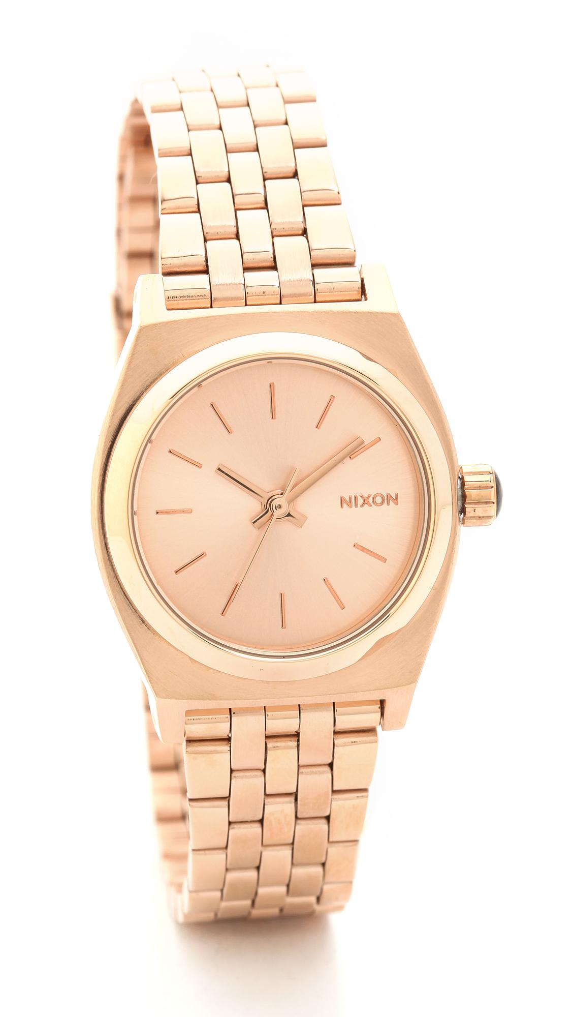 nixon time teller rose gold review