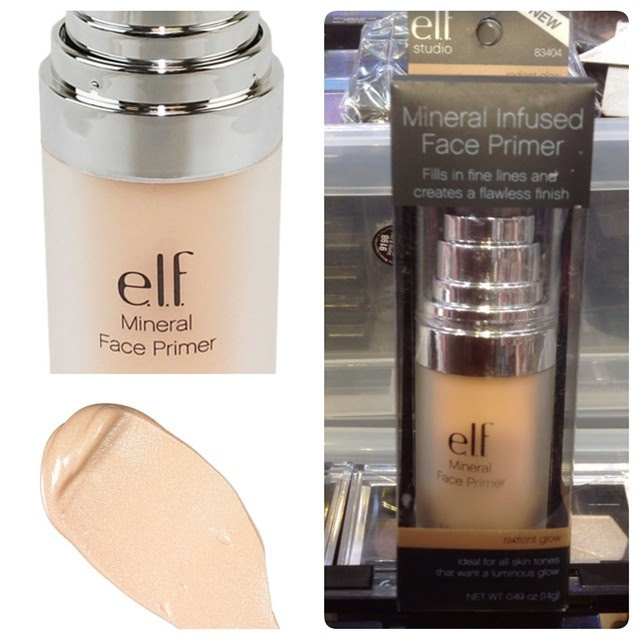elf mineral infused face primer radiant glow review