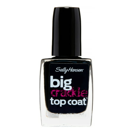 sally hansen big crackle top coat review