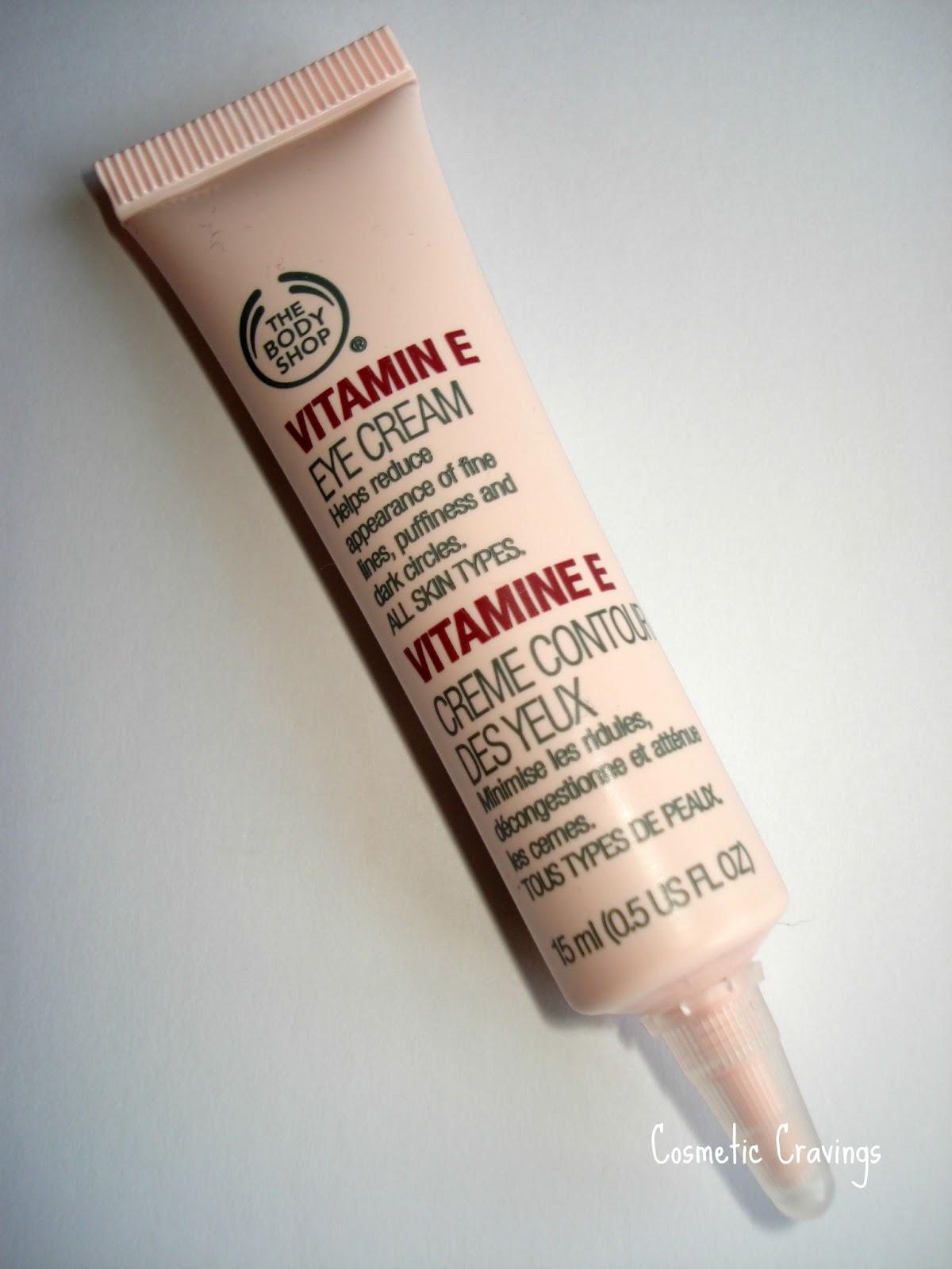 body shop vitamin c eye cream review