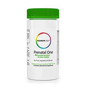 rainbow one prenatal vitamins review
