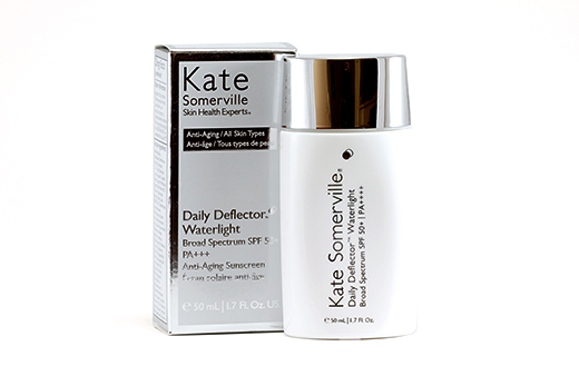 kate somerville daily deflector moisturizer spf 50 review