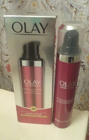 olay regenerist micro sculpting cream with sunscreen reviews