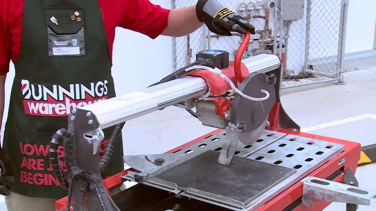 full boar 800w 200mm saw tile cutter review