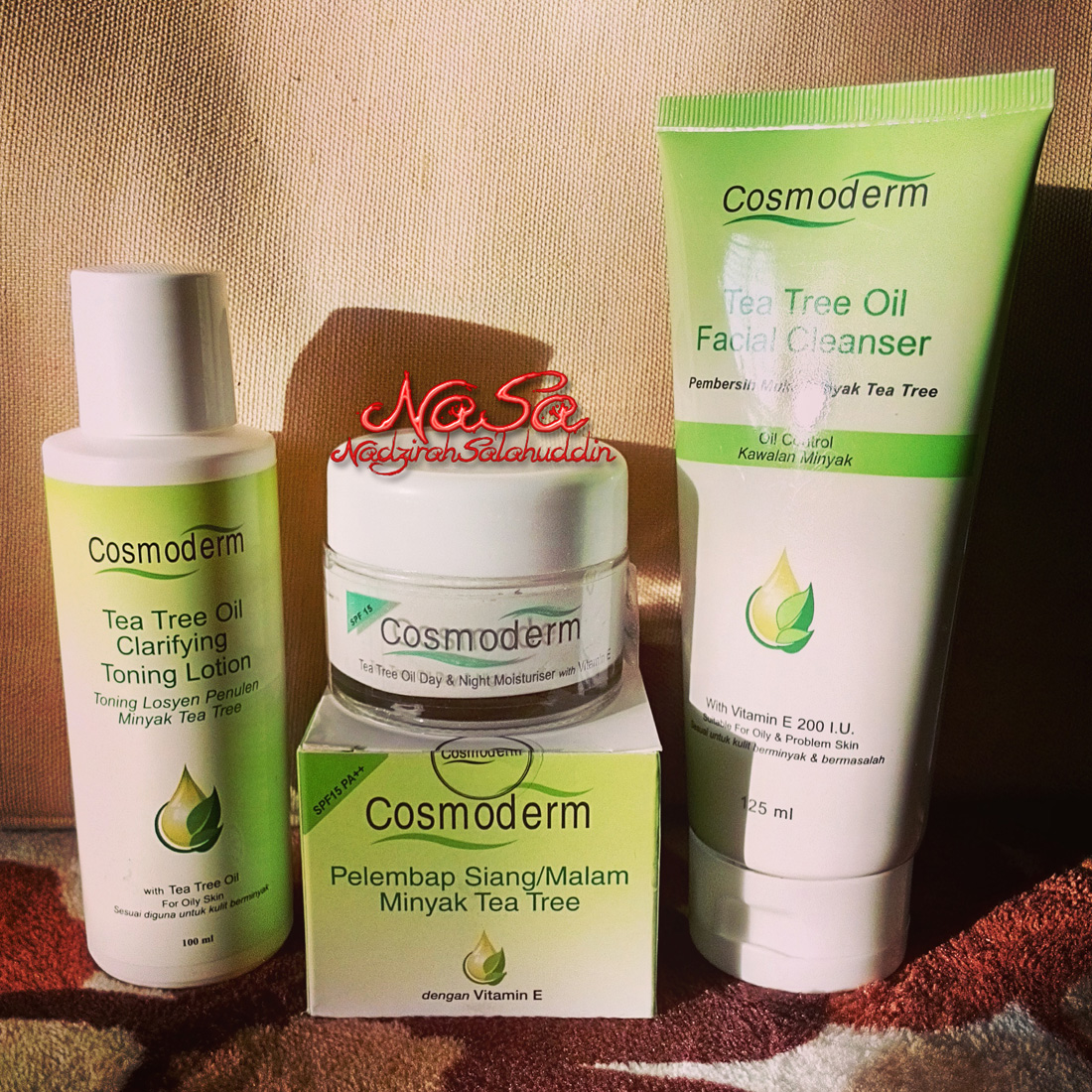 cosmoderm tea tree oil review