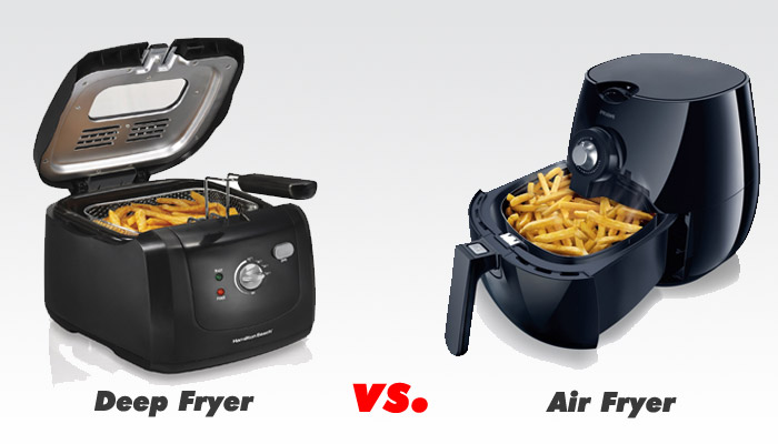 air fryer vs deep fryer reviews