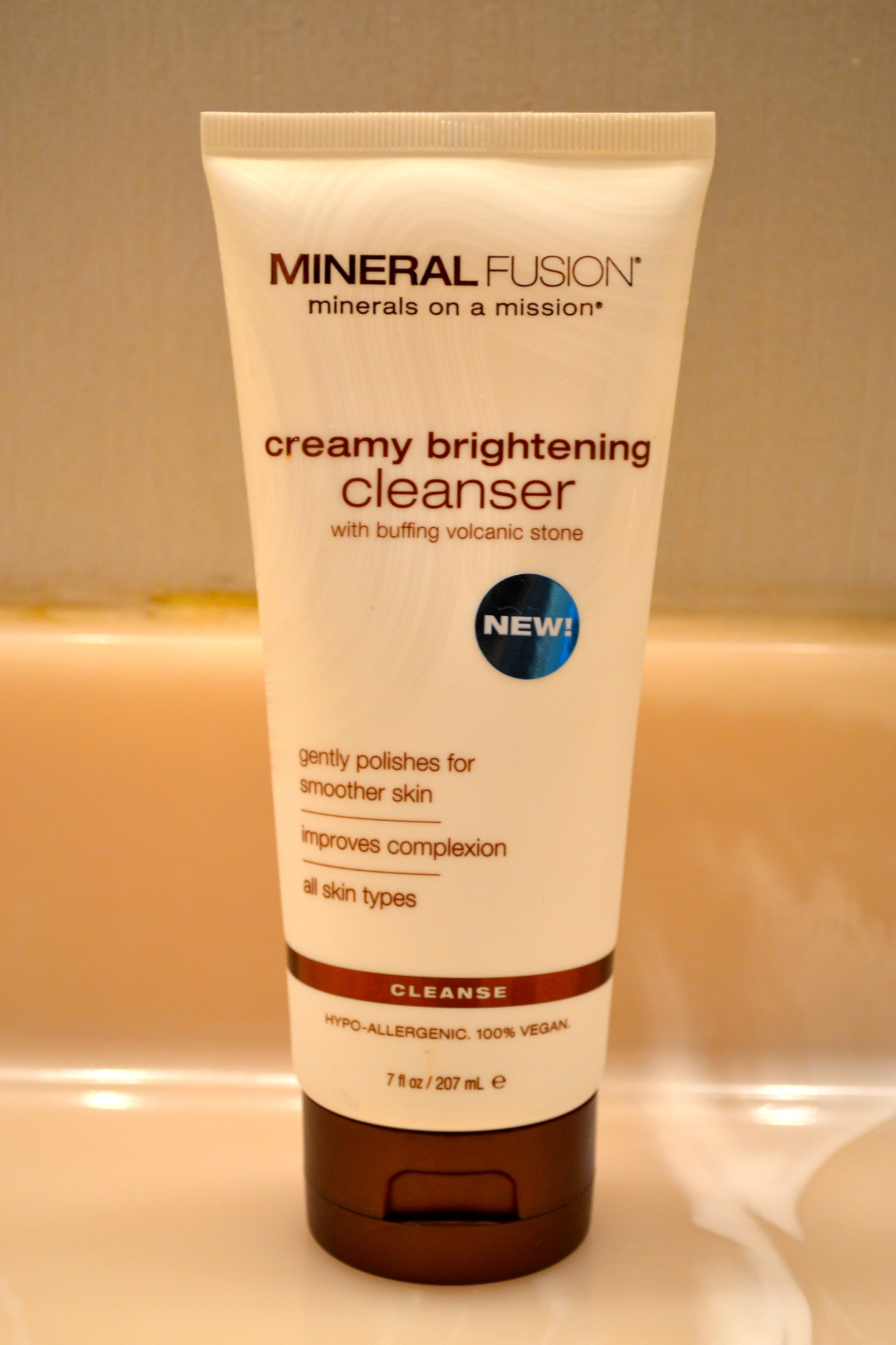 pur minerals face wash reviews